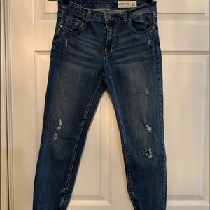 Woman's Pistola crop jeans